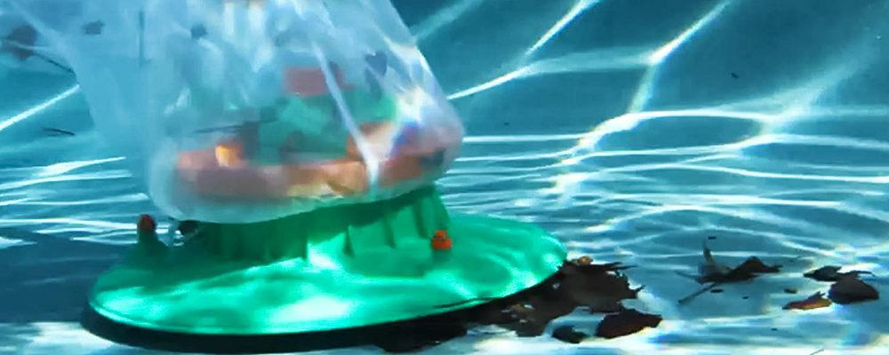 pool leaf eater